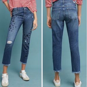 Pilcro & the Letterpress Slim Boyfriend Crop Jeans